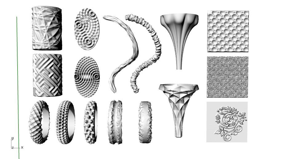 texturas en grasshopper, diseño generativo paramétrico con rhino en mexico y barcelona
