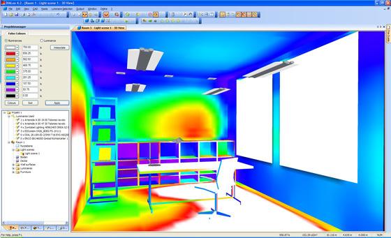 Dialux 4 es usado en su mayoría por diseñadores, interioristas y arquitectos especializados en iluminación, así como por técnicos, instaladores y comerciales de este sector. Dialux EVO al ser un software orientado al proyecto arquitectónico es más usado por arquitectos que tienen la necesidad de calcular proyectos lumínicos más complejos o de grandes extensiones.