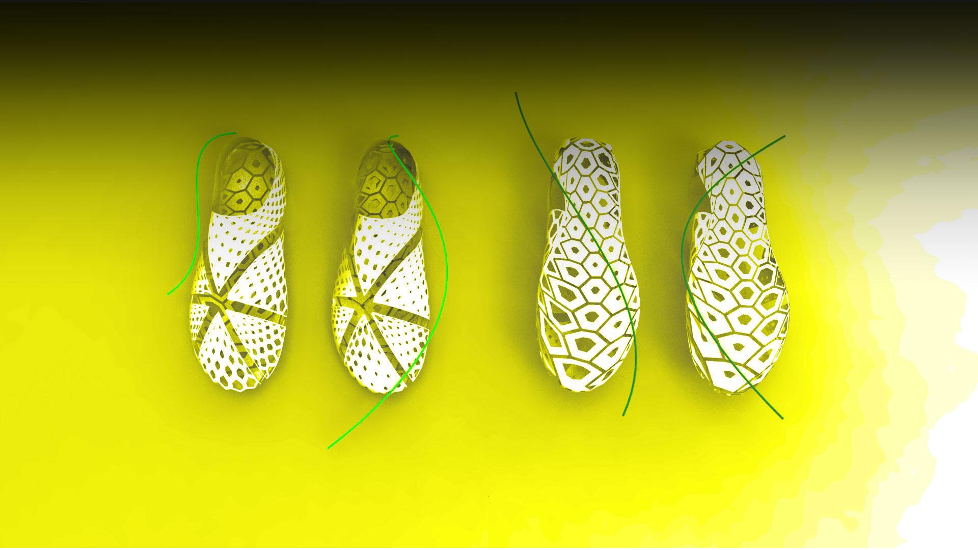 zapatos moda parametrica generativa rhino3d grasshopper3d cursos master formacion diplomado barcelona españa internships